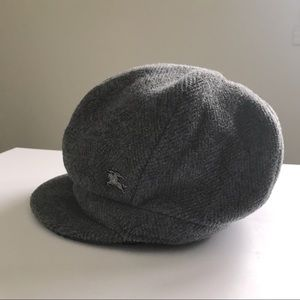Burberry wool hat in grey size S